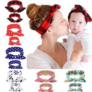 Other - Matching baby and mommy headbands